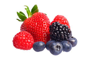 Figure 3:  Berries have a high fibre content  and are bursting with nutrition.