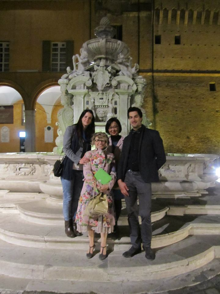 With Francesca, Catia and Stephano@Cesena, Italy, April 2014