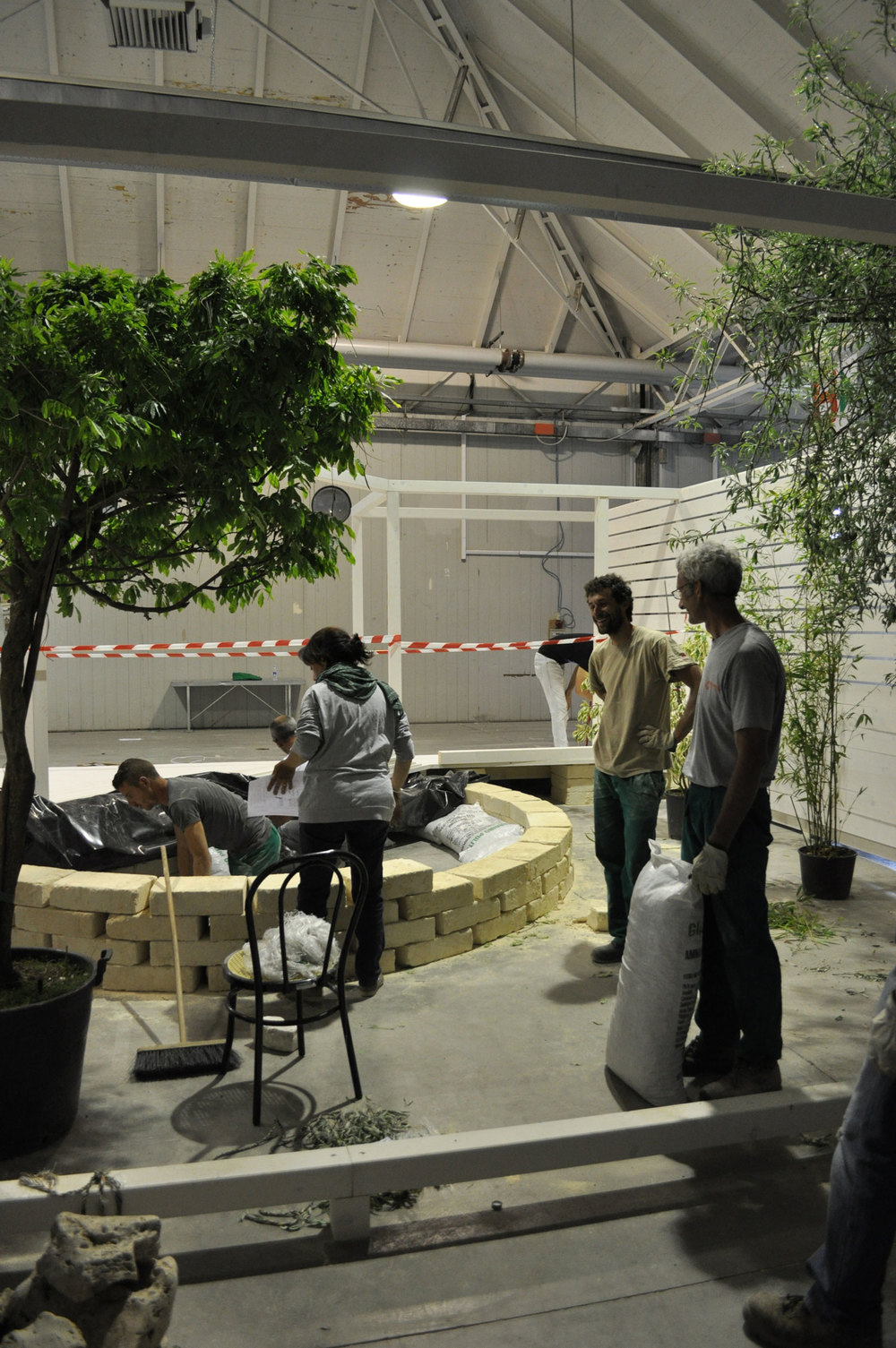 Under construction @Italian Koi Show, Cesena, Italy (May 2014)