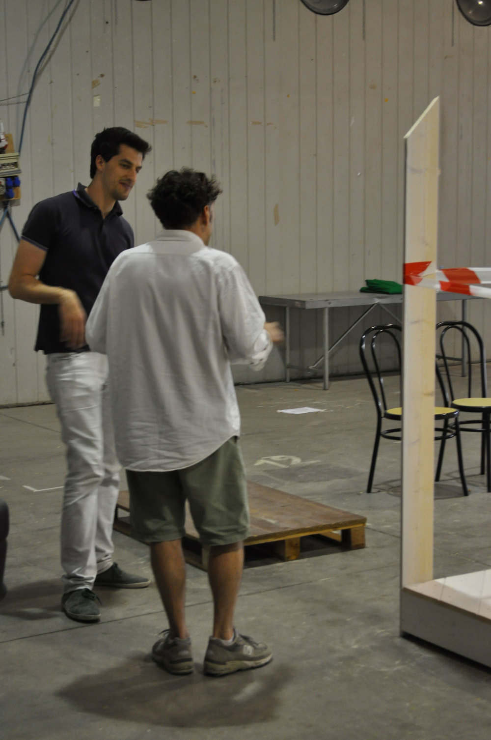 Under construction @Italian Koi Show, Cesena, Italy, May 2014 (Stephano & Marco)