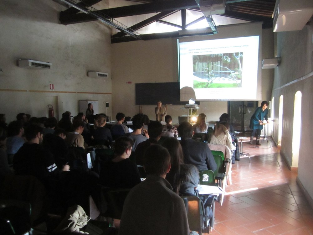 Special lesson at the University of Florence 23 March 2015