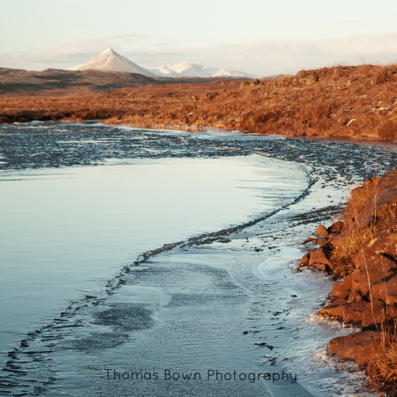 Iceland mountain view