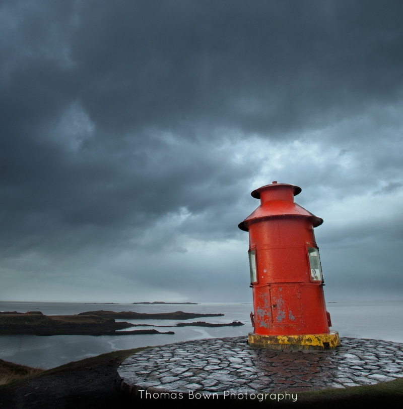 The lighthouse at Stykkisholmur
