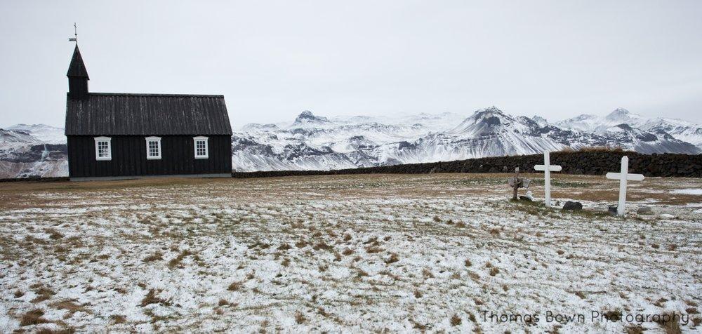 Icelandic church at Budir