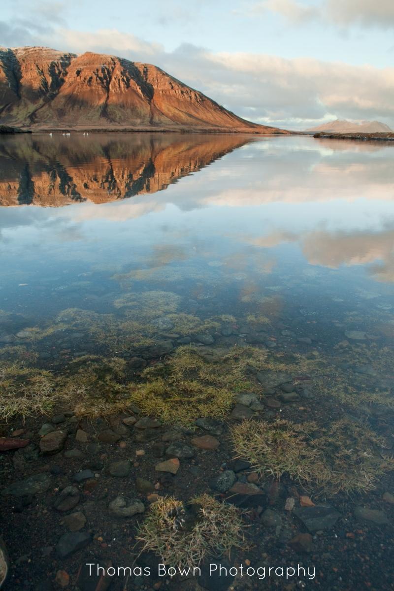 Lake on the Snaefellsness peninsula