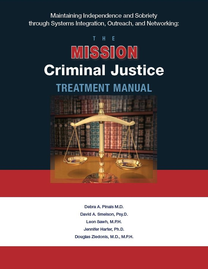 MISSION-Criminal Justice Treatment Manual