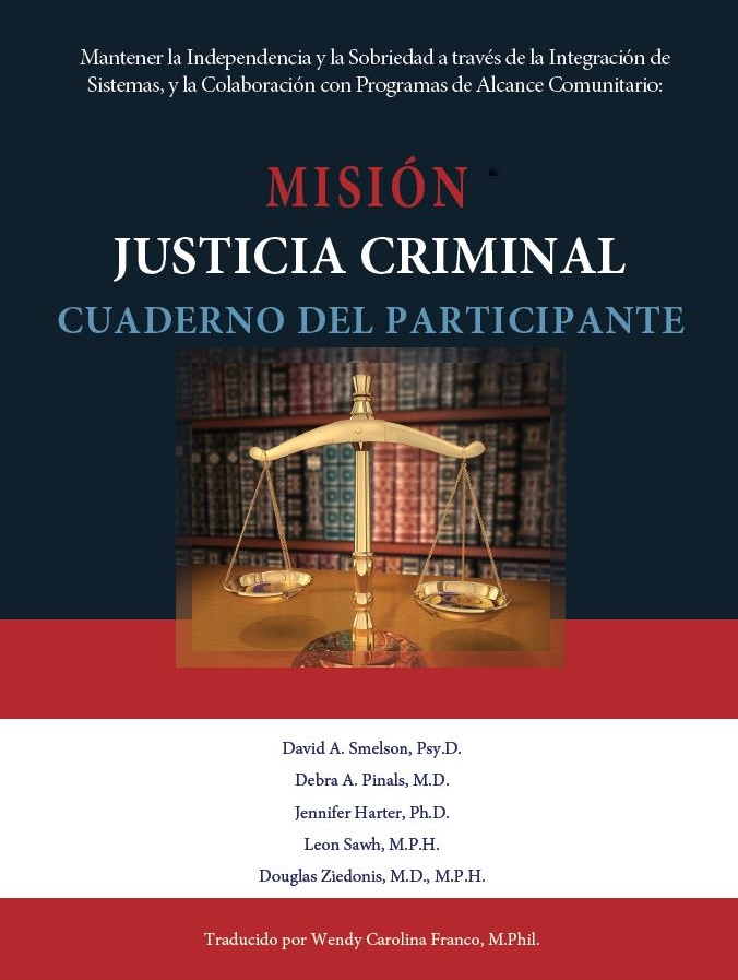 MISSION-Criminal Justice Participant Workbook (Spanish)