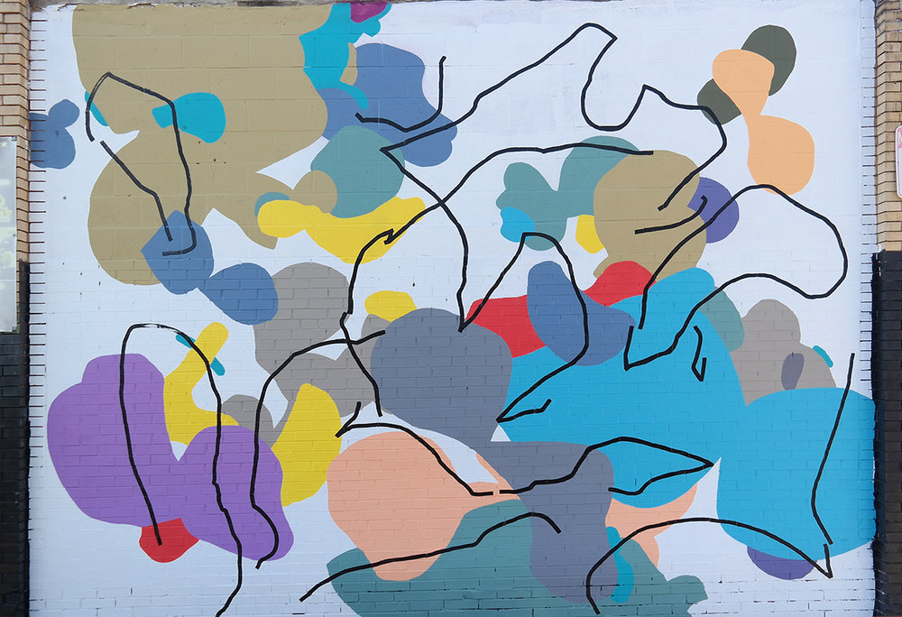 Spring Arts Mural - 'Reunion' Artist: Ryan Beck
