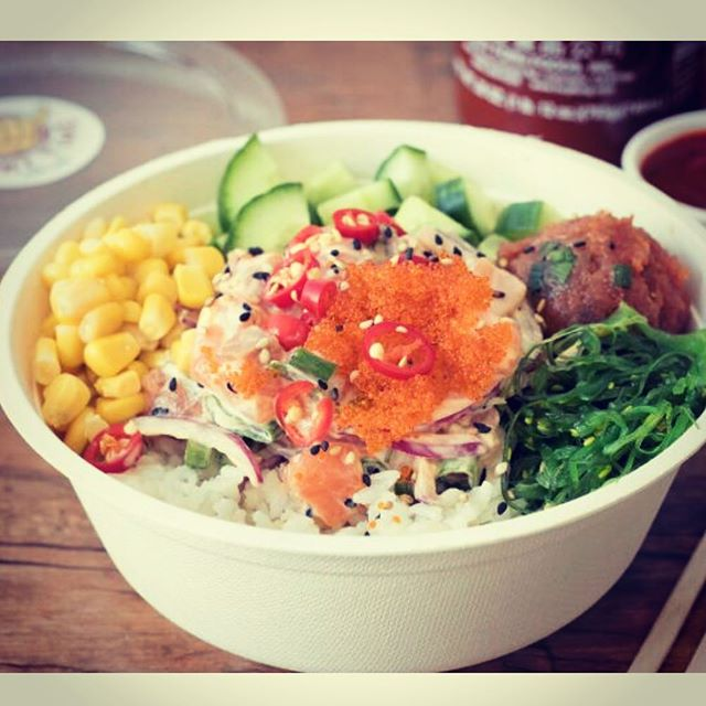The famous 'Spicy Up' signature poke bowl! @pokitimeau  Also as mention on @urbanlistmelb