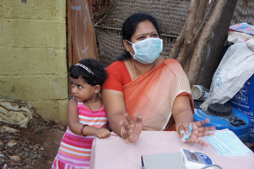 Dr. Selvi and her daughter