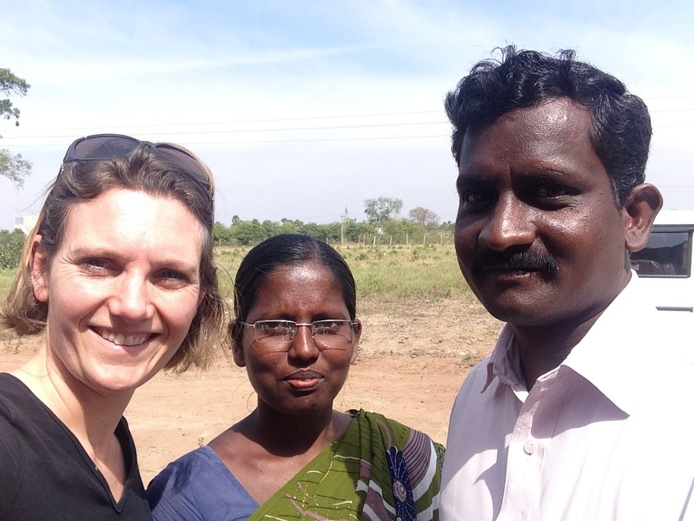 Pastor Thomas and his wife, Jegajothi