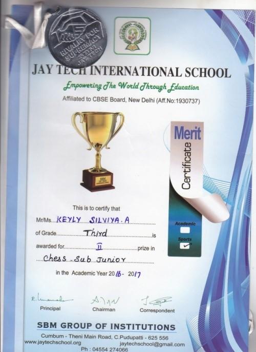 2016 school award