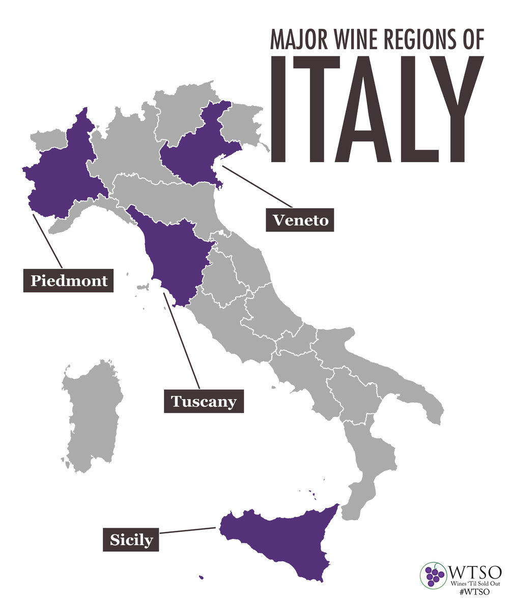 A Guide To Italian Wines WTSO From the Vine