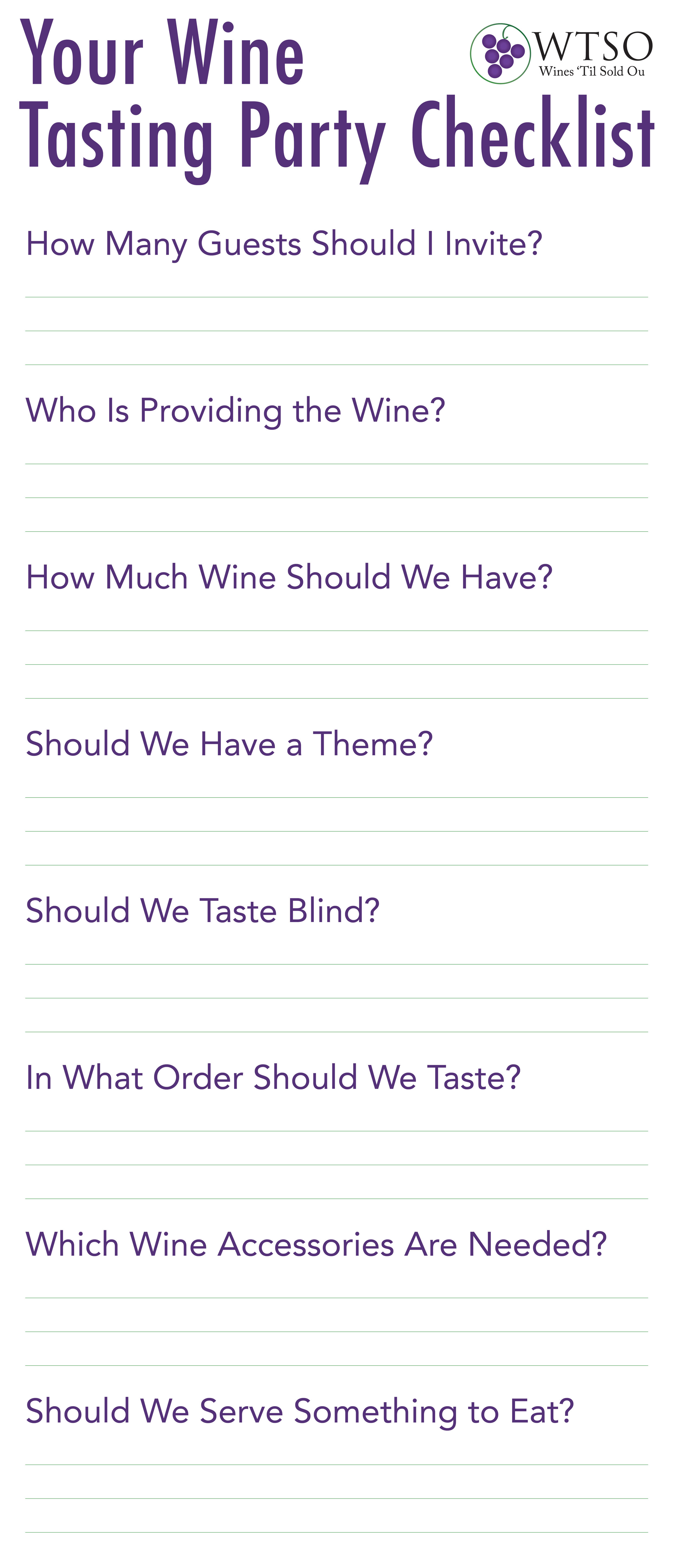 How To Host A Wine Tasting Party | From The Vine