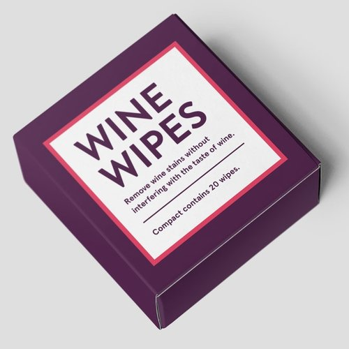 Wine Wipes Are Easy To Keep In Your Pocket Or Purse