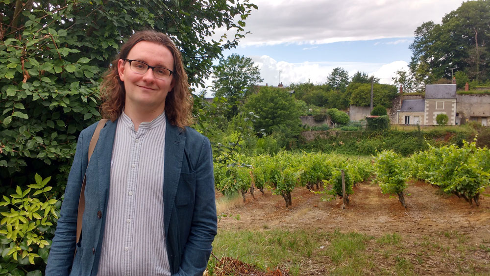 Wandering in the vineyards of Vouvray