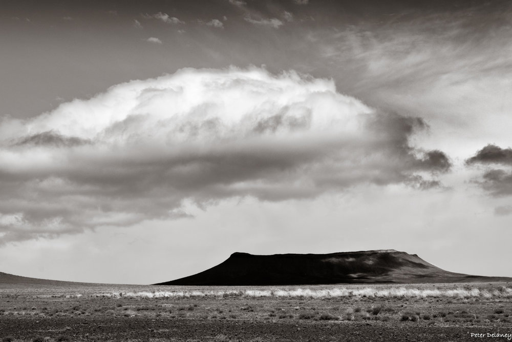 Karoo Koppie and Clouds, Buy Canvas Prints
