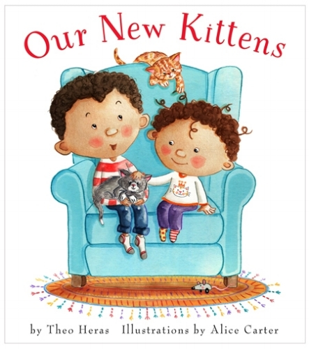 A sweet, empowering story for young children about two brothers welcoming and caring for their new kittens.