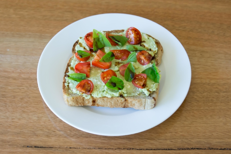 BB Avo on Toast, recipe below