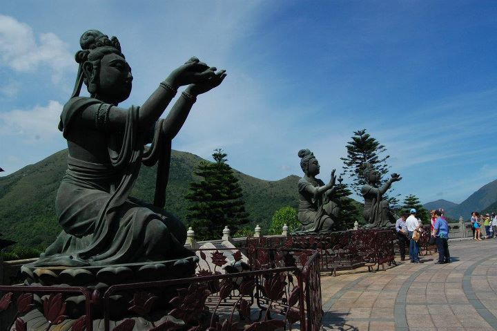The Offering of the Six Devas, Tian Tan Buddha, Lantau.