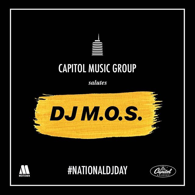 Salute to all the DJ's worldwide. Tag your favorite DJ. @capitolrecords #nationaldjday🙏🏿