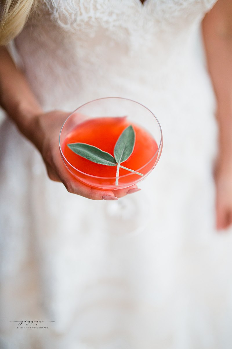 We loved the color of this drink and the contrast to the dress. Thank you  Bartenders 4 You  Photo Credit:  Jessica Elle Photography