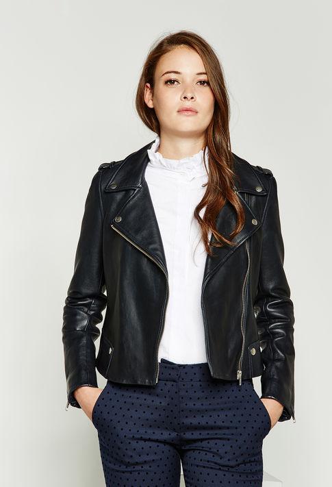 Claudie Pierlot Leather Jacket