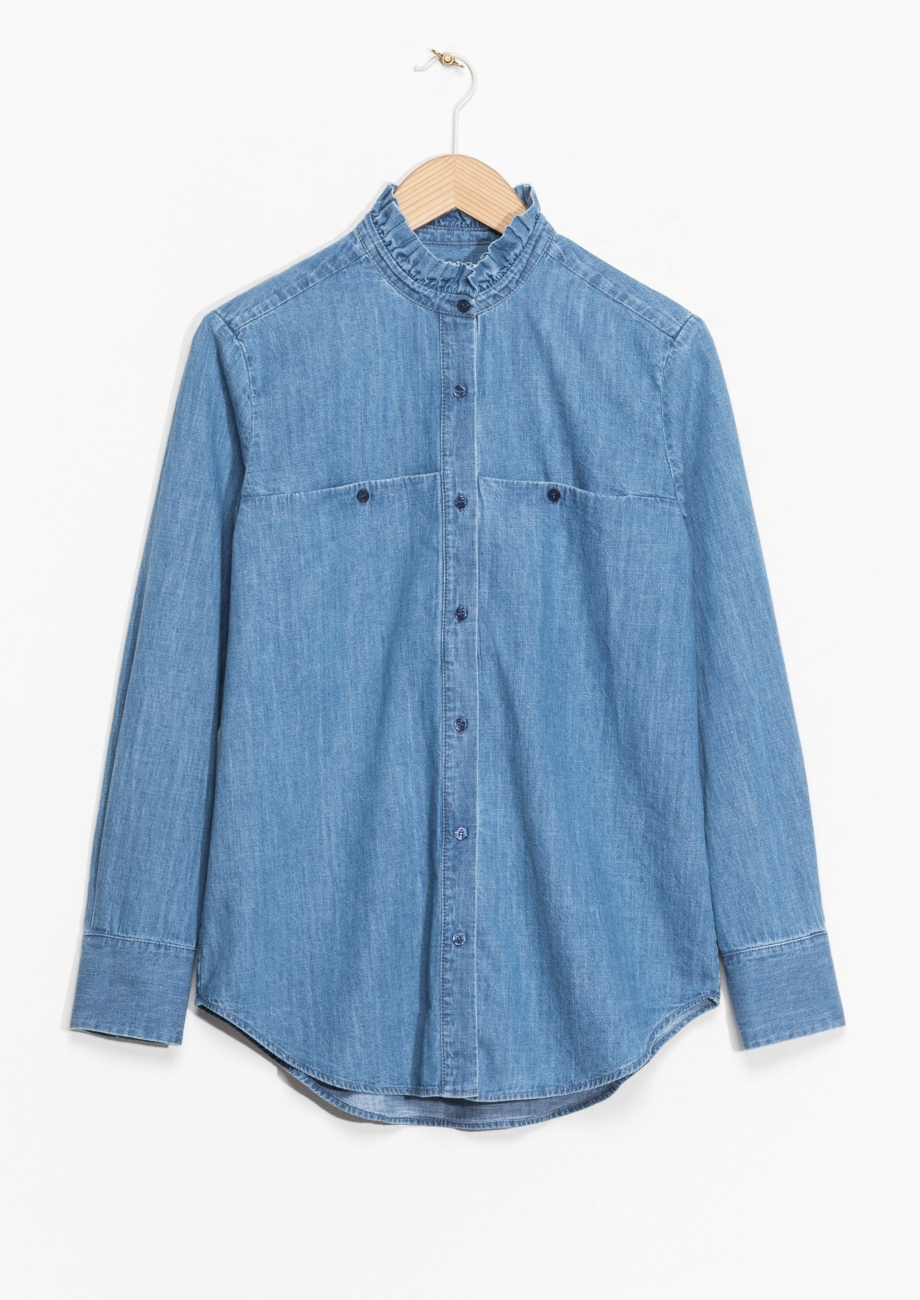 & Other Stories Chambray Shirt