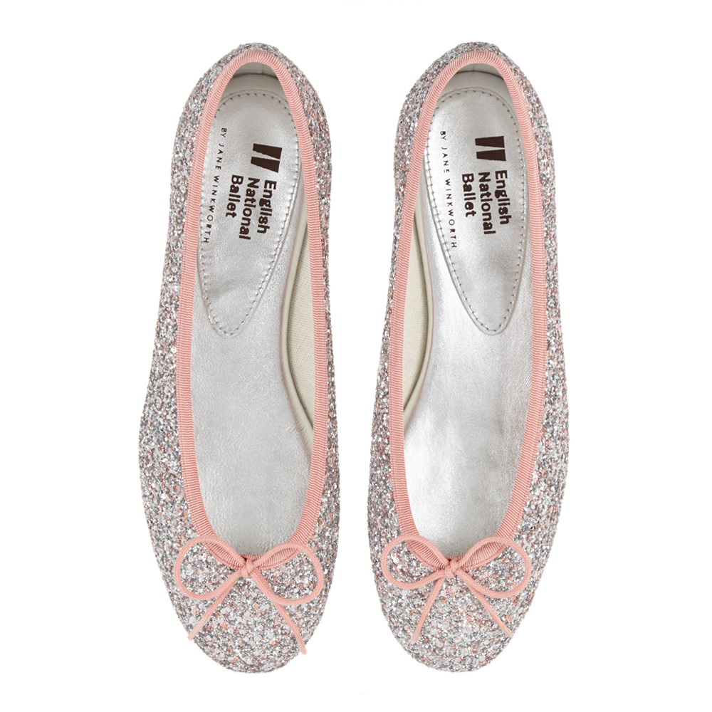 French Sole Glitter Pumps