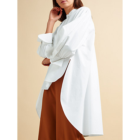 John Lewis' Modern Rarity collection is fast becoming a favourite source for on-trend classics.  The proportions of this piece work so well with the dropped hem and gathered cuffs.