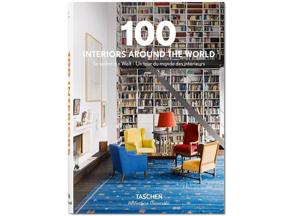 100 Interiors Around the World by Taschen £12.99
