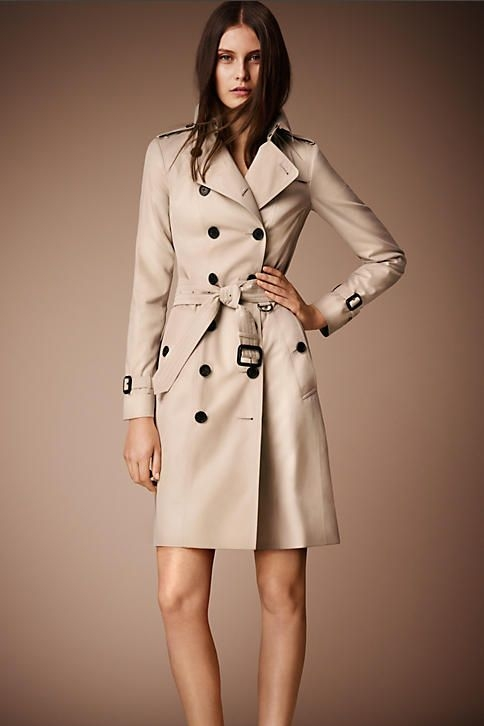 THE FOREVER CLASSIC  Burberry Sandringham Mid-Length Heritage Trench Coat in Honey £1295.00  If you're ready to really invest in a life-long trench coat then I'd look no further than Burberry.  Known as the  'owners of the trench coat' they offer several styles, fits and lengths to suit all shapes, sizes and tastes.  I love the Sandringham option as it's slightly tailored without being too fitted plus looks as great open with the belt tied at the back as it does closed.  For me the mid-length is the most practical as it works with dresses and skirts as well as trousers and jeans.