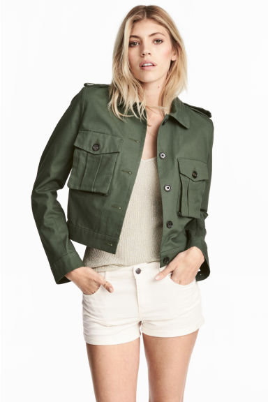 MILITARY  Short Cargo Jacket from H&M £34.99