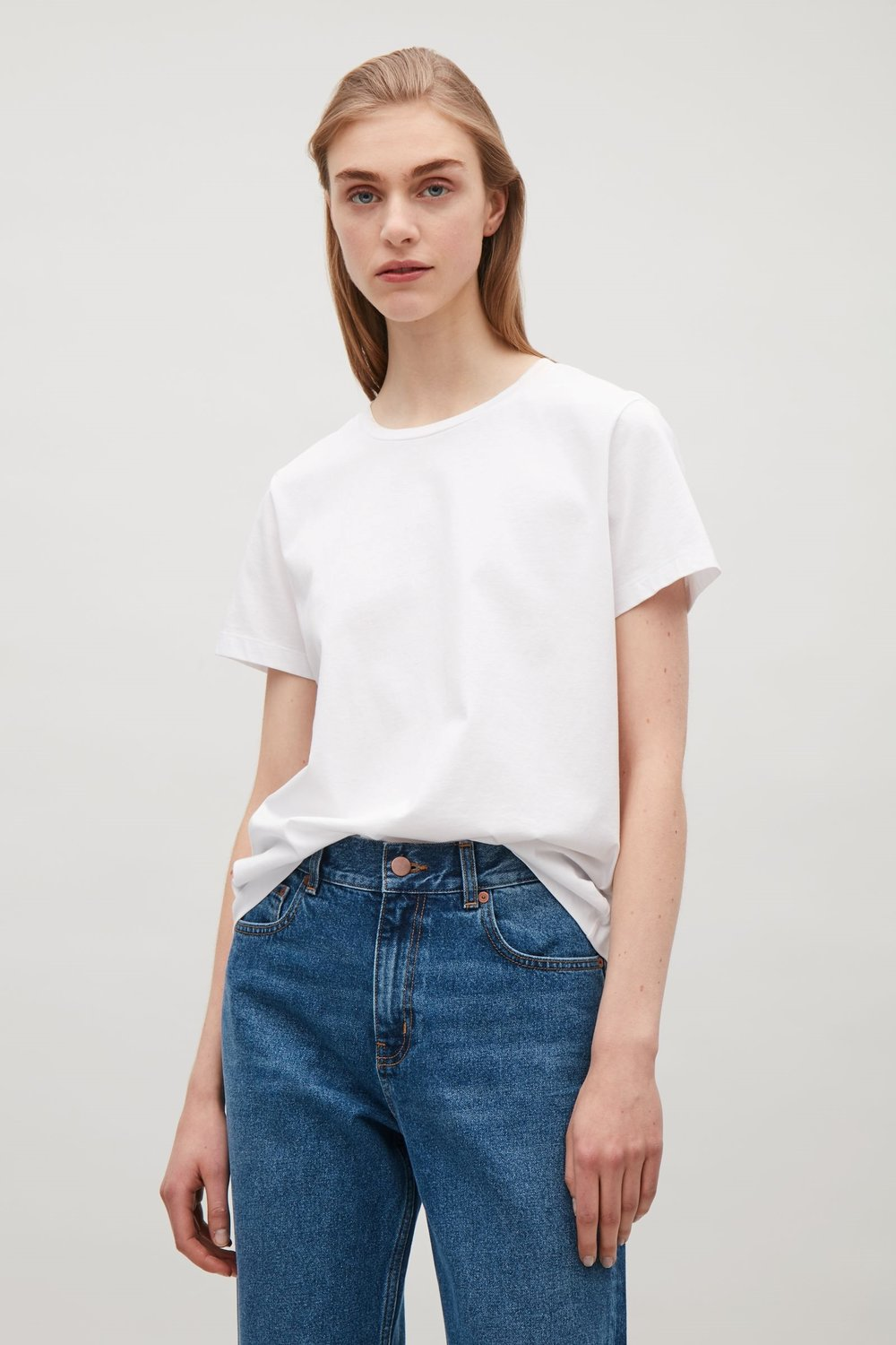 THE PERFECT WHITE TEE  Classic t-shirt from Cos £19.00