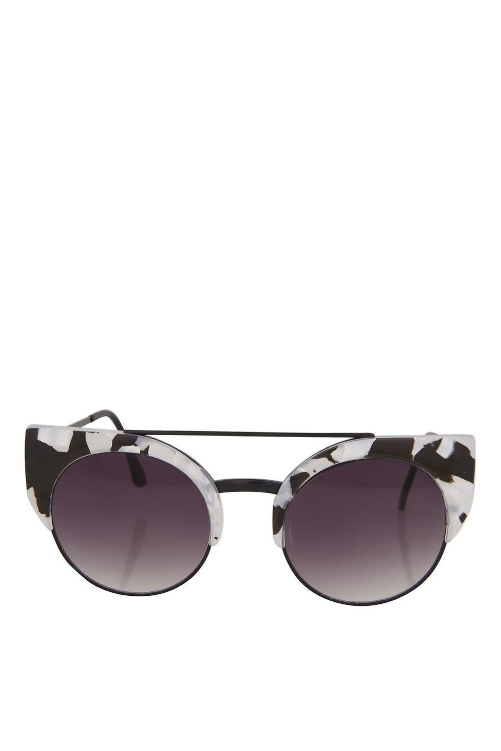 THE SHADES  Carrey Browbar Clubmaster Sunglasses from Topshop £18.00