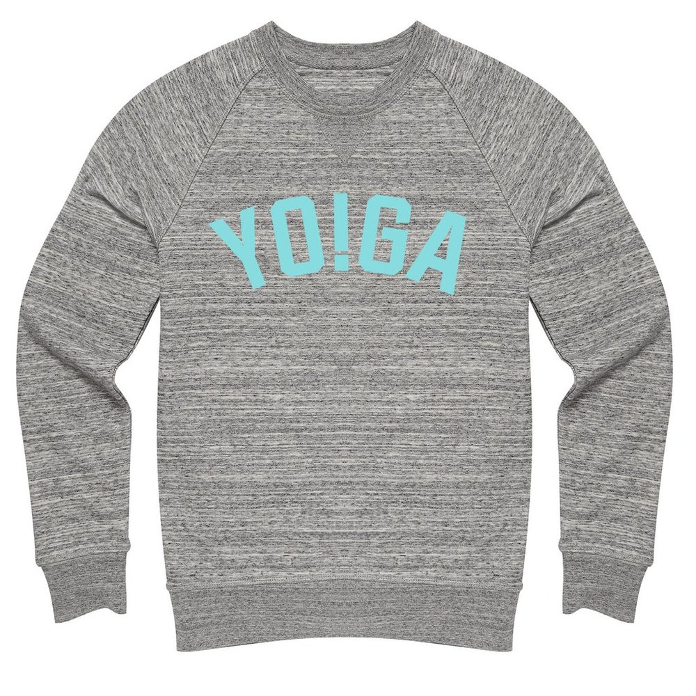 Yo!Ga Organic Cotton Blend Sweatshirt by Hey Holla £65.00