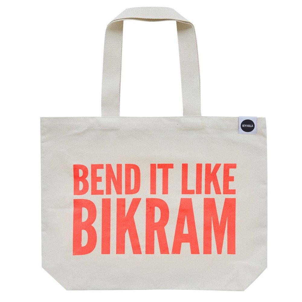 Bend It Like Bikram Yoga Bag by Hey Holla £20.00