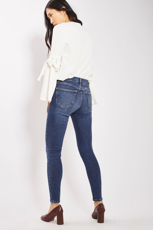 Topshop MOTO Rich Indigo Jamie Jeans £40.00 ( click to bu y)