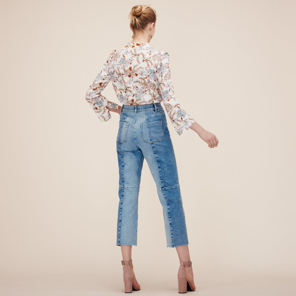Maje Perry Straight-cut Faded Denim Jeans £185 ( click to buy )