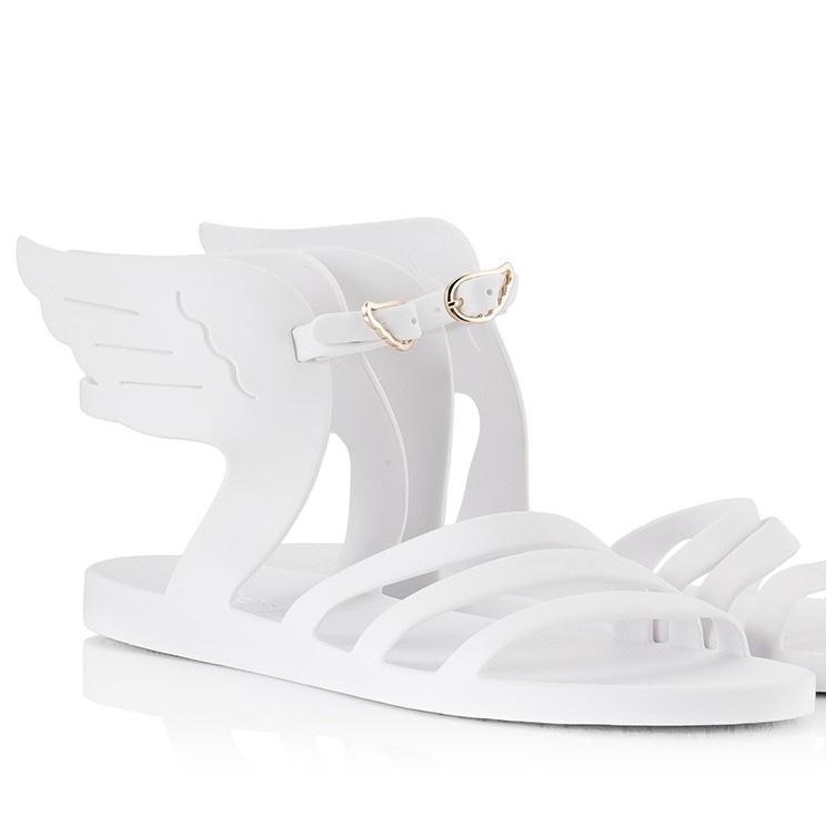 Ancient Greek Ikaria Sandals in White €80.00