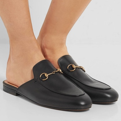 Gucci Horsebit Leather Slippers @ Net a Porter £430.00