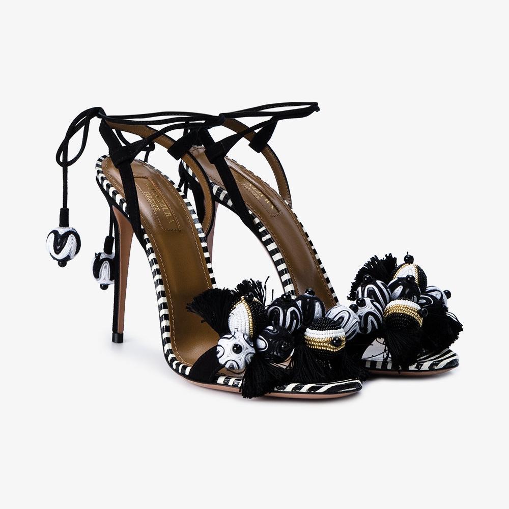 Tropicana Sandals by Aquazzura @ Browns £590.00