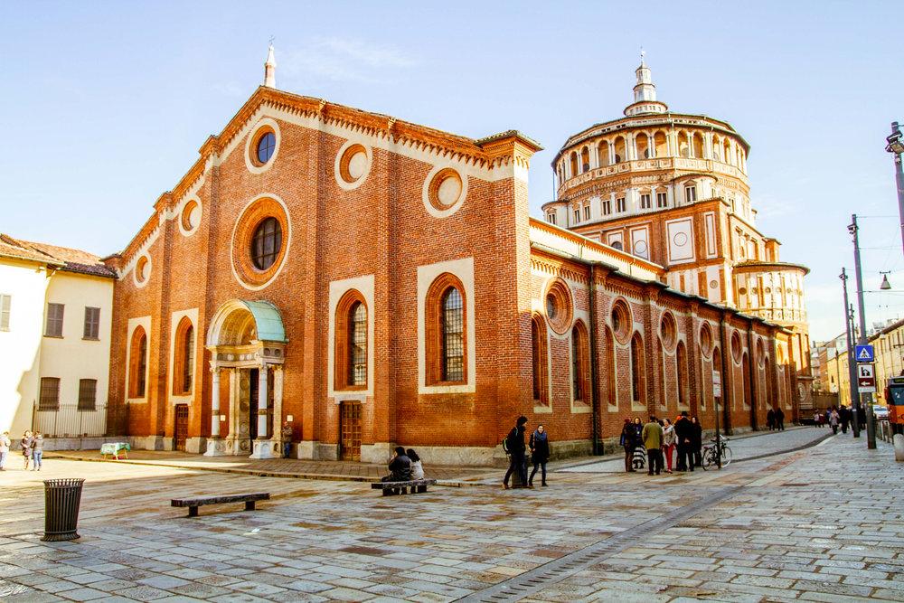 Santa Maria delle Grazie,Piazza di Santa Maria delle Grazie, 20123