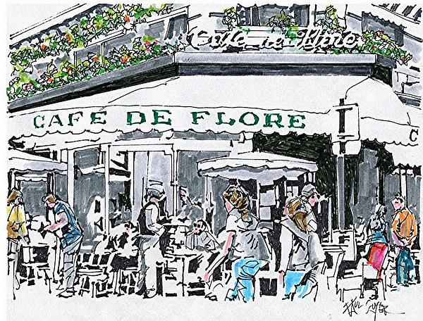 Cafe de Flore,172 Boulevard Saint-Germain, 75006   This is a serious Parisian institution and I suspect most of you will have heard of it. I love it for lunch and always try and grab a seat outside and enjoy the people watching. The salad nicoise is one of the best in the city and since it's a favourite of locals and celebrities alike, you've got to know its pretty good! Avoid the cliched croque monsieur and be adventurous.
