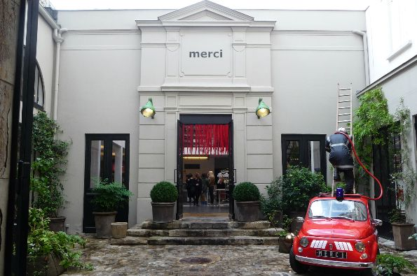 Merci,111 Boulevard Beaumarchais, 75003   This place is cute and cool in equal measure. Every time I've been I've found new delights, new pieces of interest and new things to not be able to leave without. Just go and hangout and experience all it has to offer...you won't come away empty handed.