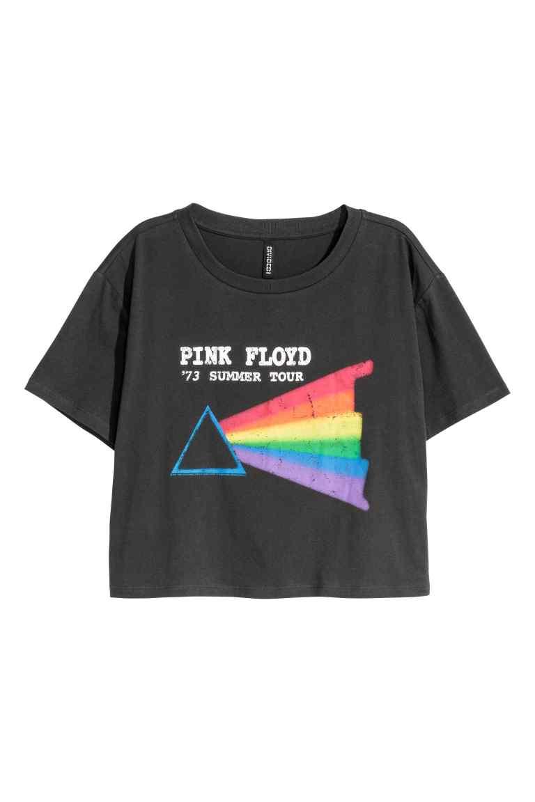 Pink Floyd Crop Tee £12.99 at H&M
