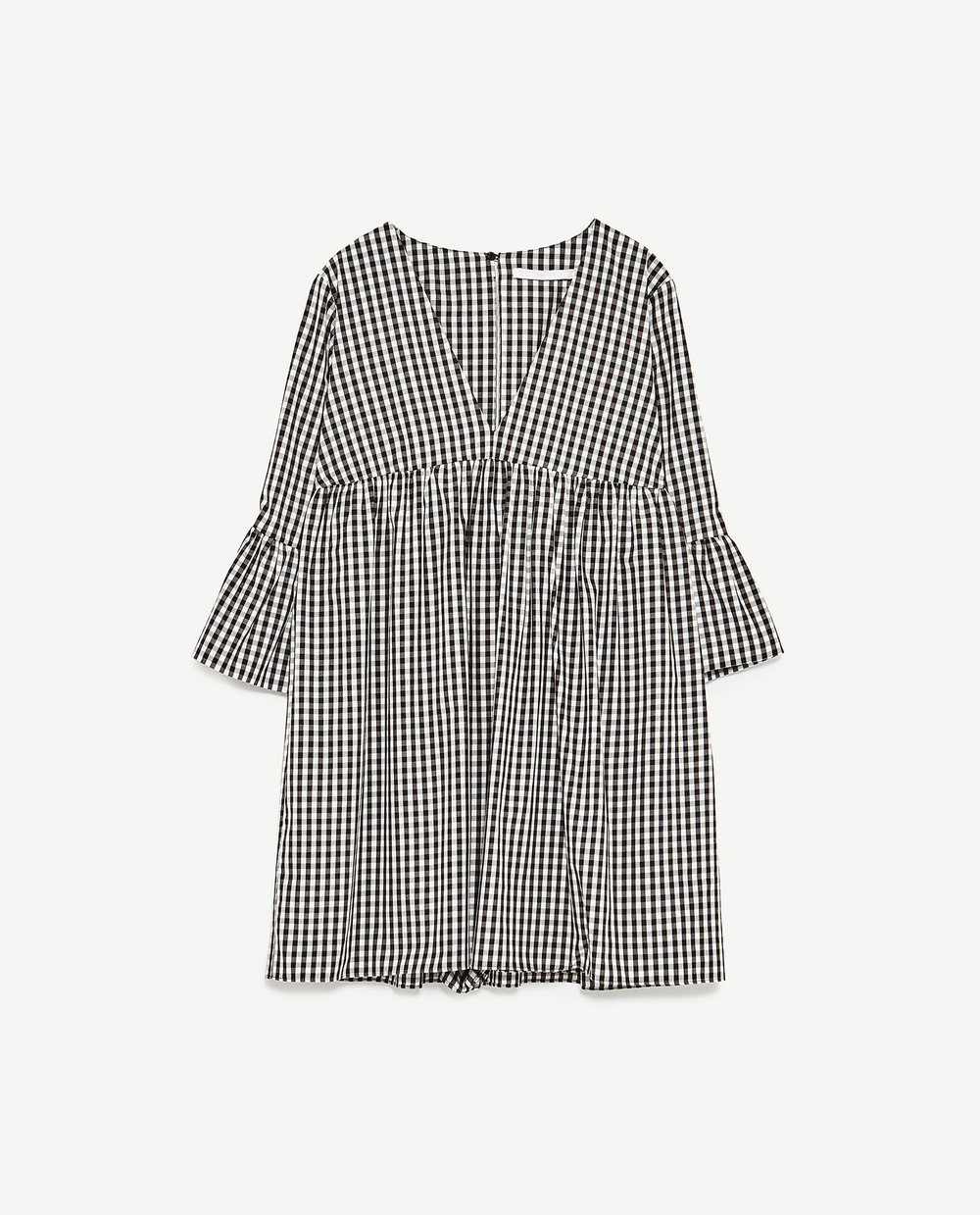 Checked Jumpsuit Dress £25.99 by Zara
