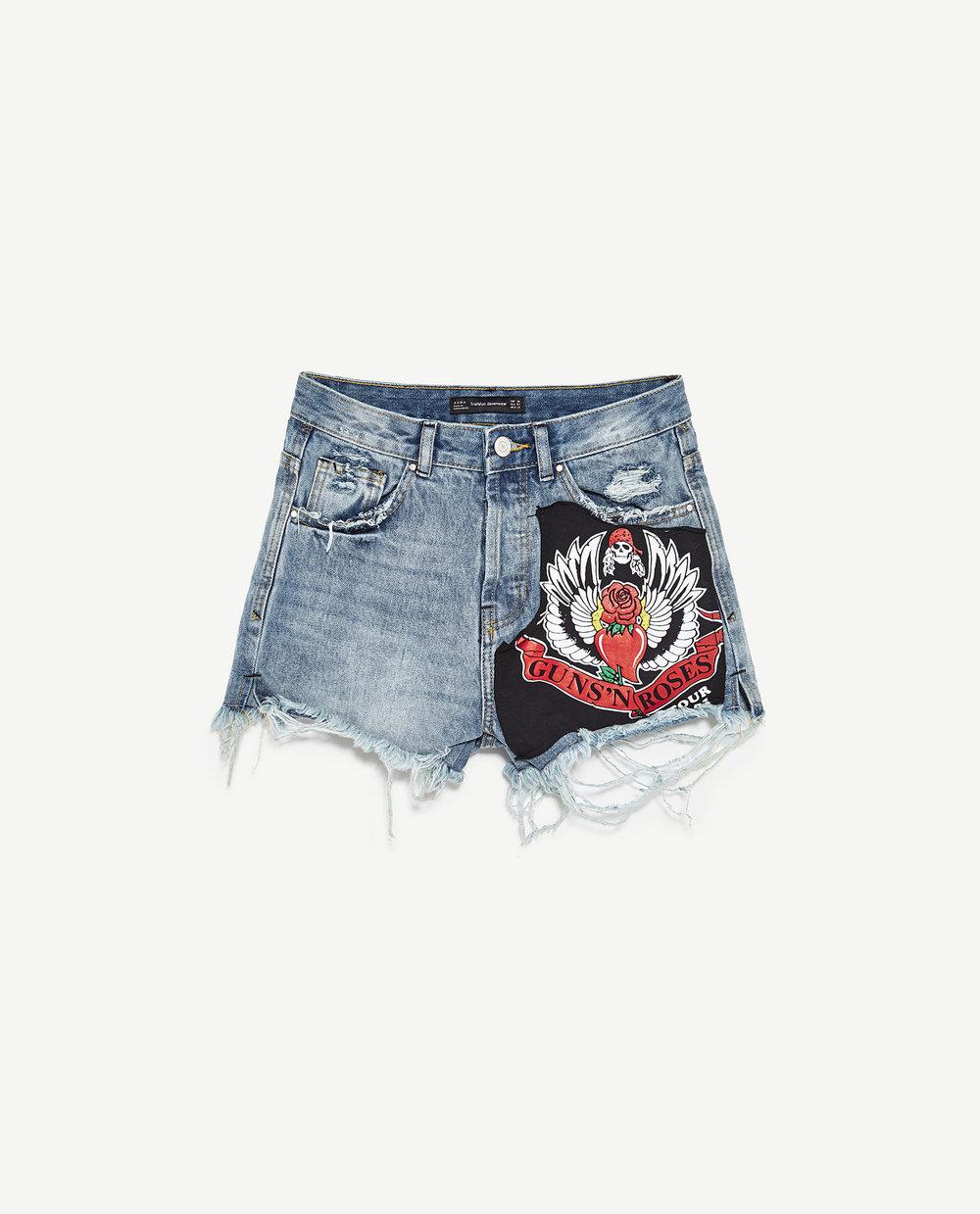 Rocker Bermuda Shorts £25.99 by TRF at Zara