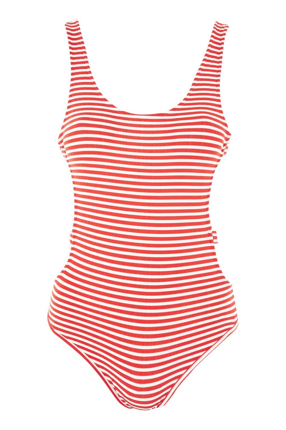 Stripe Body Suit £22.00 at Topshop