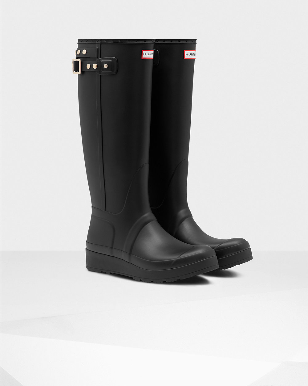 Original Tall Wedge Stud Wellies by Hunter £120.00